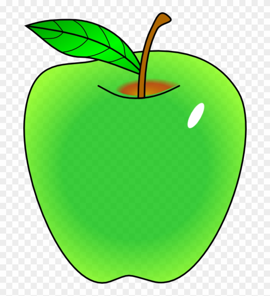 Apple green. Clipart vector clip art
