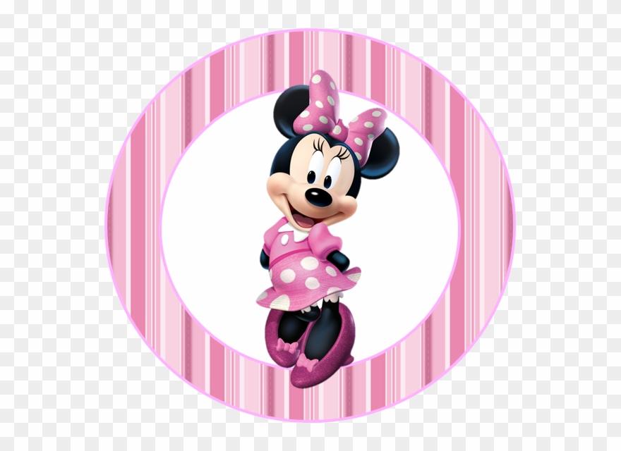 Mini Kit De Minnie Rosa Para Imprimir Gratis Topo De Bolo Minnie