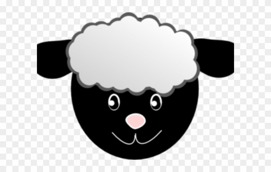 graphic regarding Sheep Printable referred to as Sheep Clipart Female - Sheep Confront Mask No cost Printable - Png