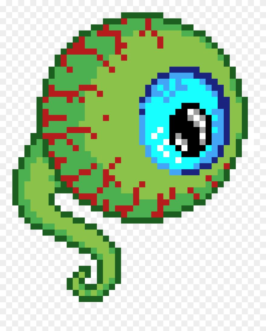 Scary Eyeball Pixel Art Star Wars Boba Fett Clipart