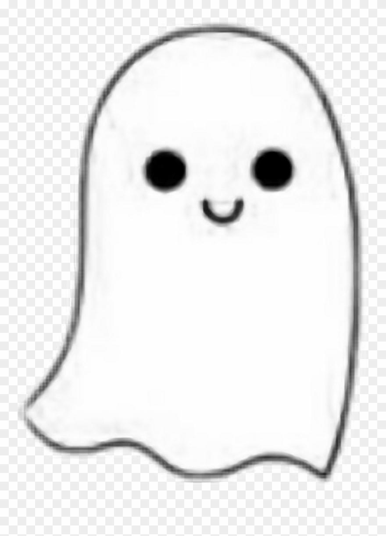 Halloween Stickers Aesthetic.White Ghost Cute Kawaii Black Halloween Aesthetic