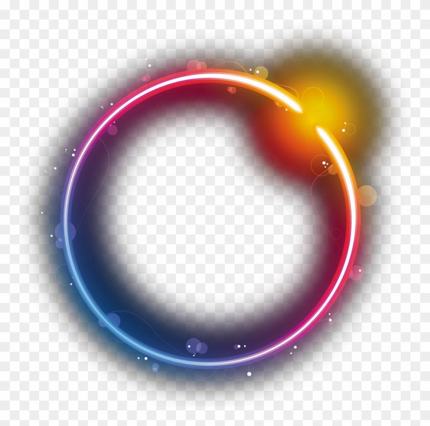 Logo Circle Star Eclipse Rainbow Png Free Photo - Transparent Rainbow Circle Png