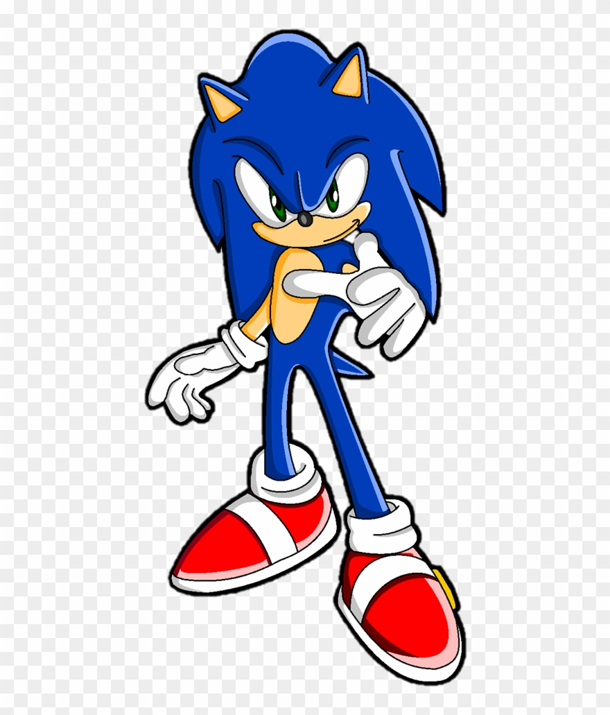Sonic The Hedgehog De Sonic The Hedgehog 2006 Clipart 4234397 Pinclipart