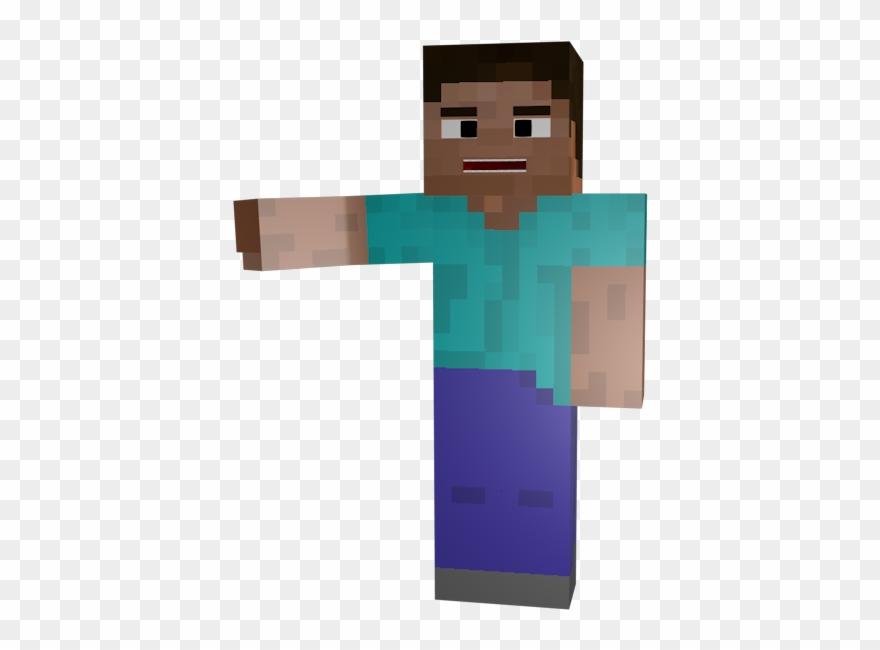 Minecraft Holding Hand Out Minecraft Steve Transparent Clipart 4238436 Pinclipart