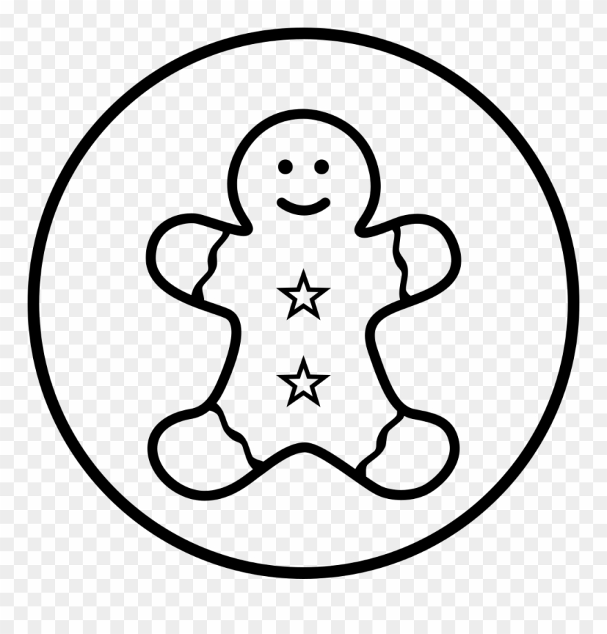 Free Printable Gingerbread Man Coloring Pages For Kids | 920x880