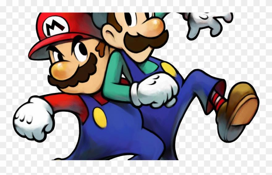 Mario Luigi Superstar Saga Art Clipart 4243615 Pinclipart