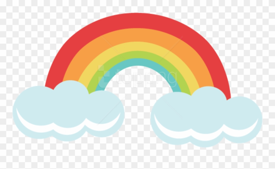 Free Png Download Rainbow Png Png Images Background Cute Rainbow Transparent Background Clipart 4244500 Pinclipart