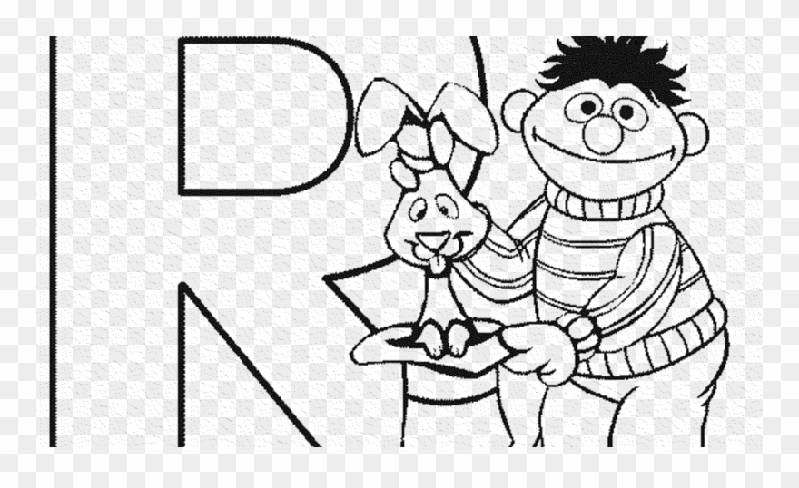 Elmo Drawing Line Sesame Coloring Pages Alphabet Clipart