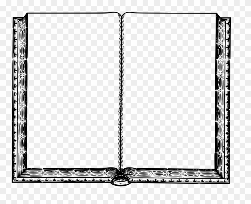 Empty Book Intentionally Blank Page Book Cover Coloring - Blank Page Of Book  Clipart (#430378) - PinClipart