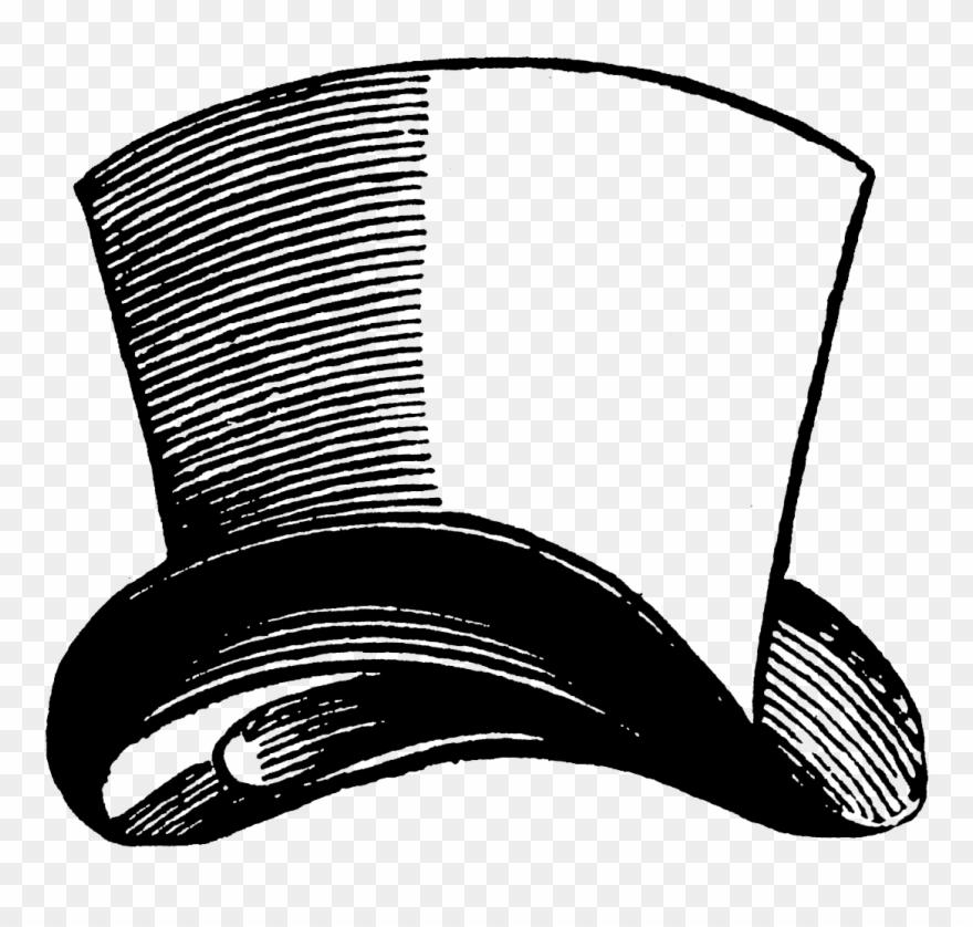 Top Hat Clipart Color Vintage Mad Hatter Hat Png Download 434659 Pinclipart