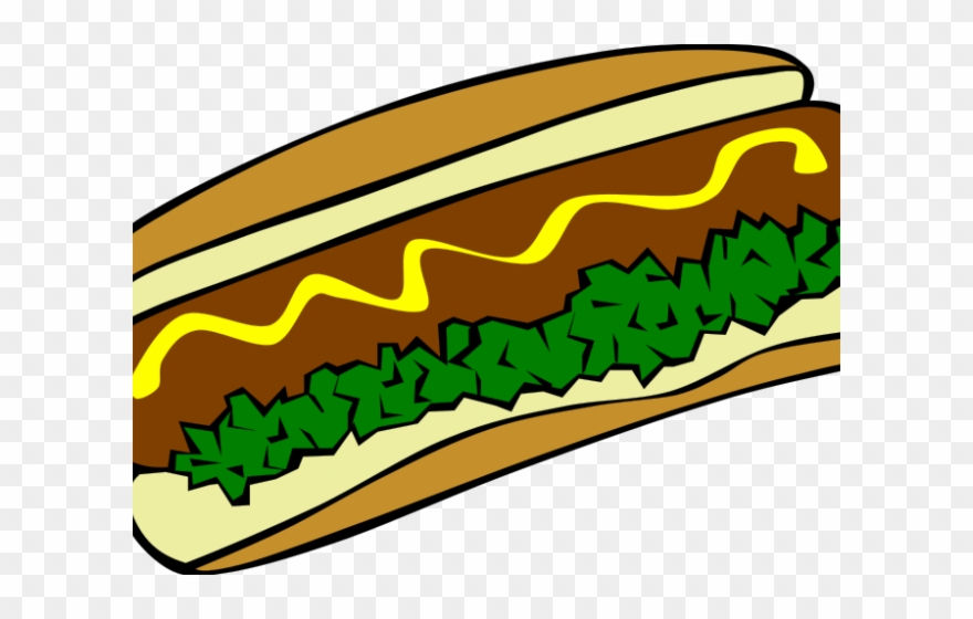 Japanese Food Clipart Football - Burger And Hot Dog - Png Download