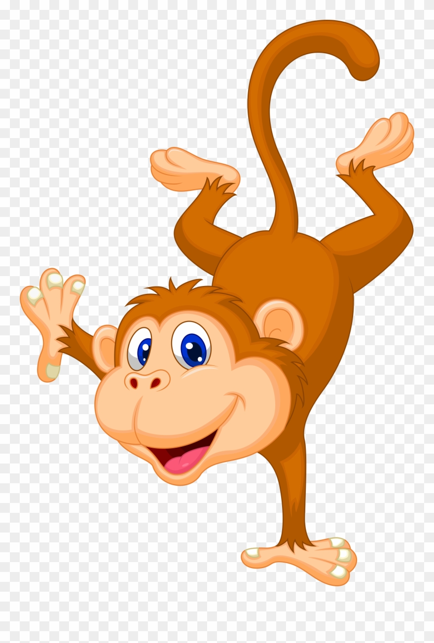 Clip Art Freeuse Library Drill Drawing Monkey Transparent