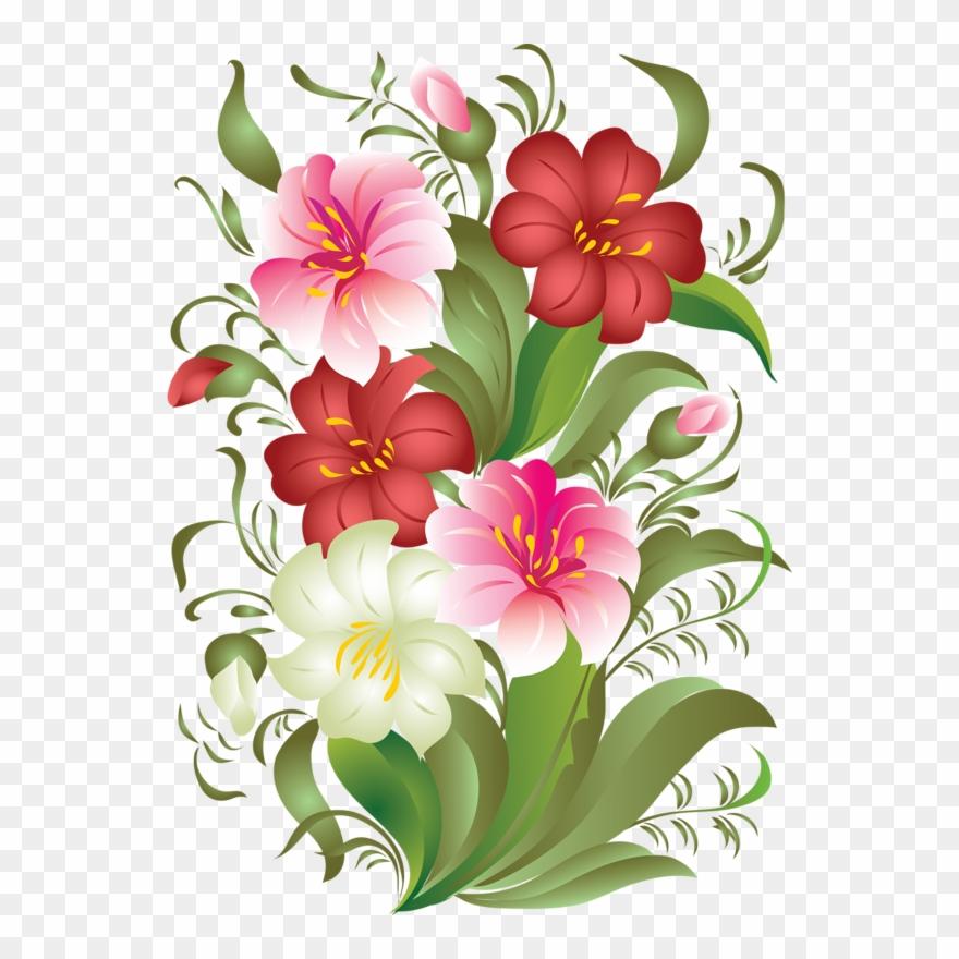 Gs August Flower Bar Clipart Png Download 439390