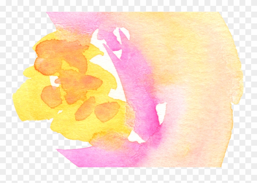 Free Fall Watercolor Floral Clip Art So Pretty Free - Watercolor Painting - Png Download