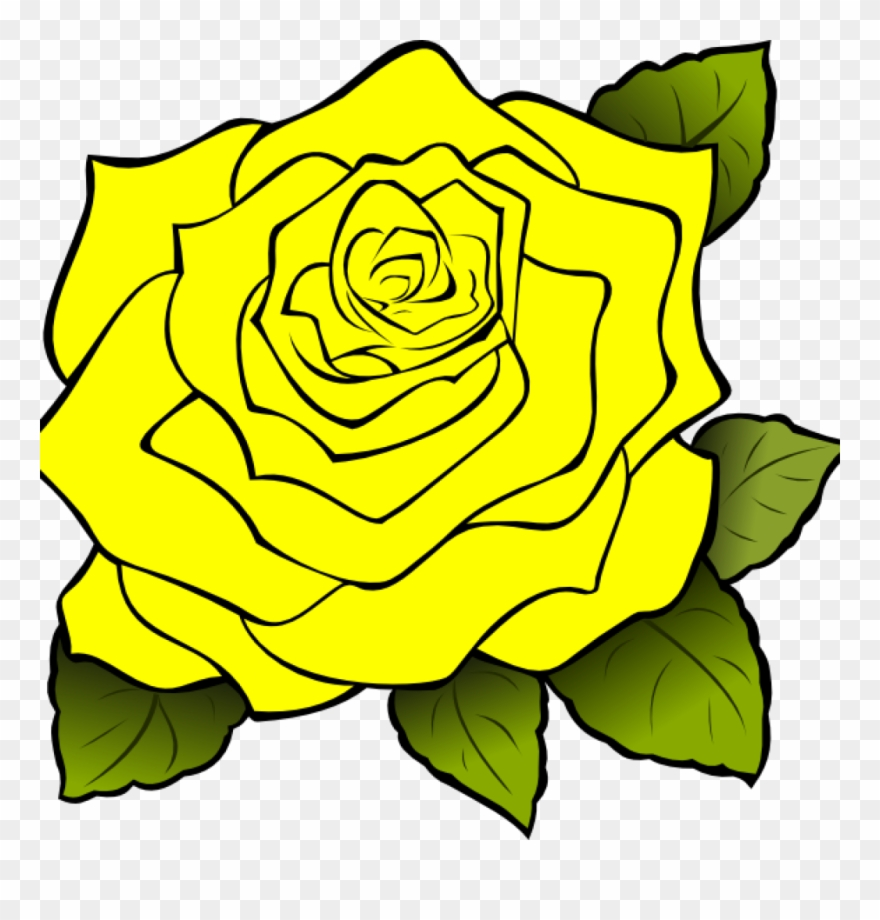 Yellow Rose Clipart Yellow Rose Clipart Yellow Rose - Clipart White Rose Transparent Background - Png Download