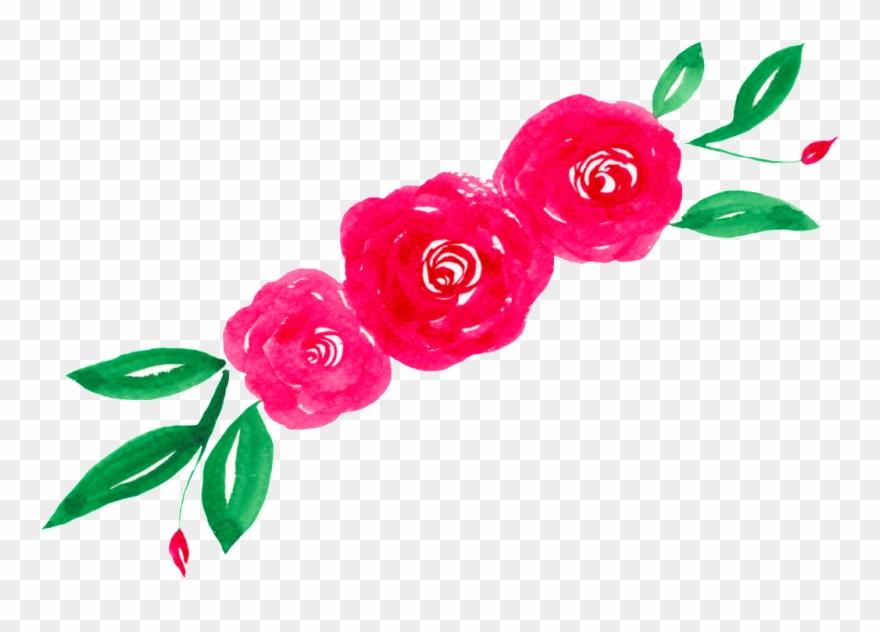 Watercolor Flower Transparent - Watercolor Painting Clipart