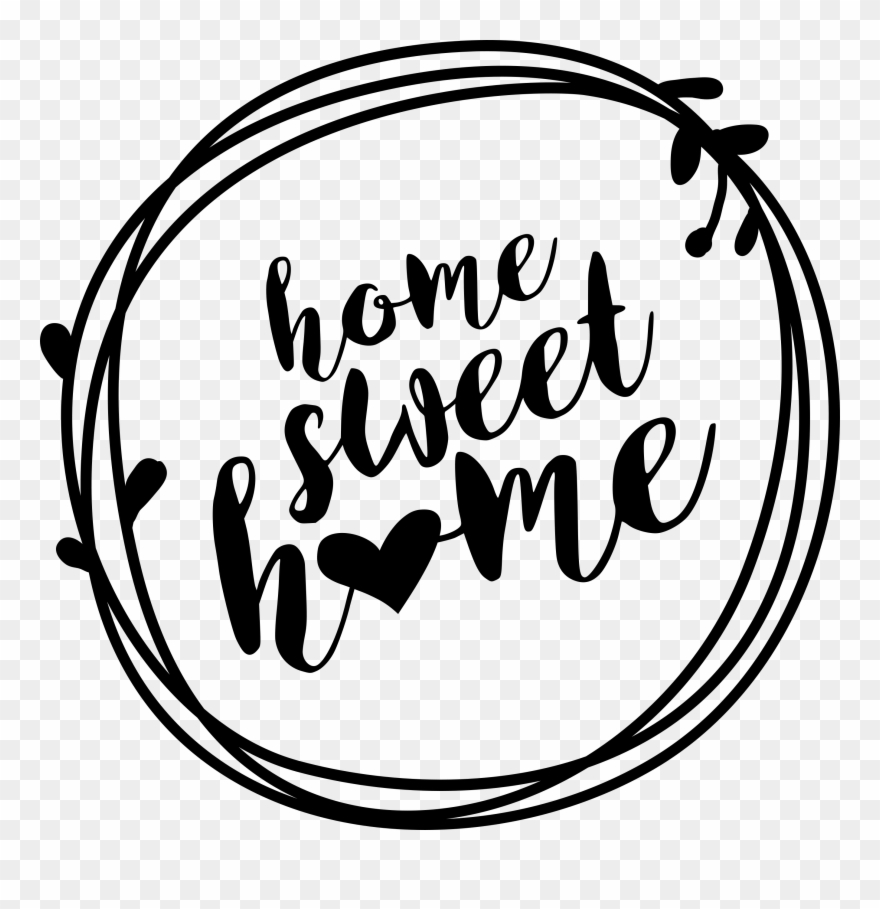 image about Welcome Home Sign Printable named House Cute Residence Wreath Printable Indication - Svg Welcome Property
