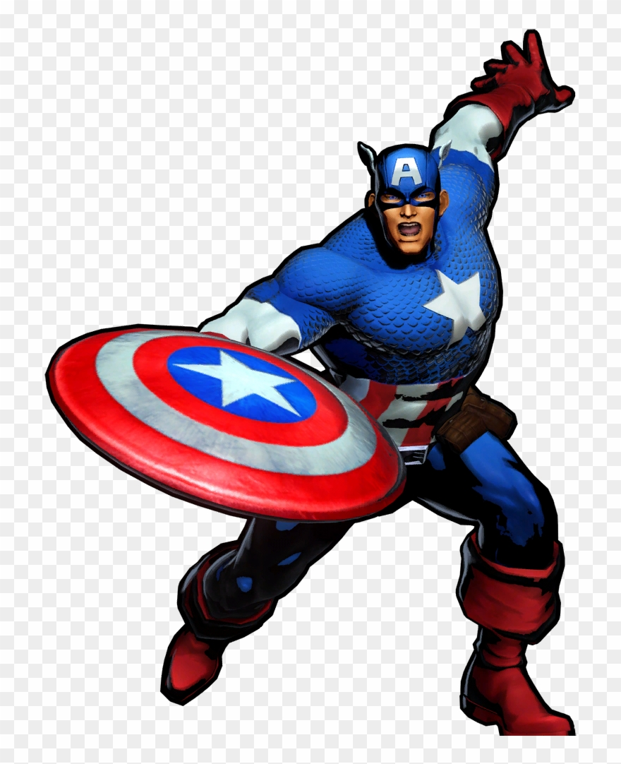 captain america clipart wikia captain america marvel vs capcom 3 in game png download 444391 pinclipart captain america marvel vs capcom 3 in
