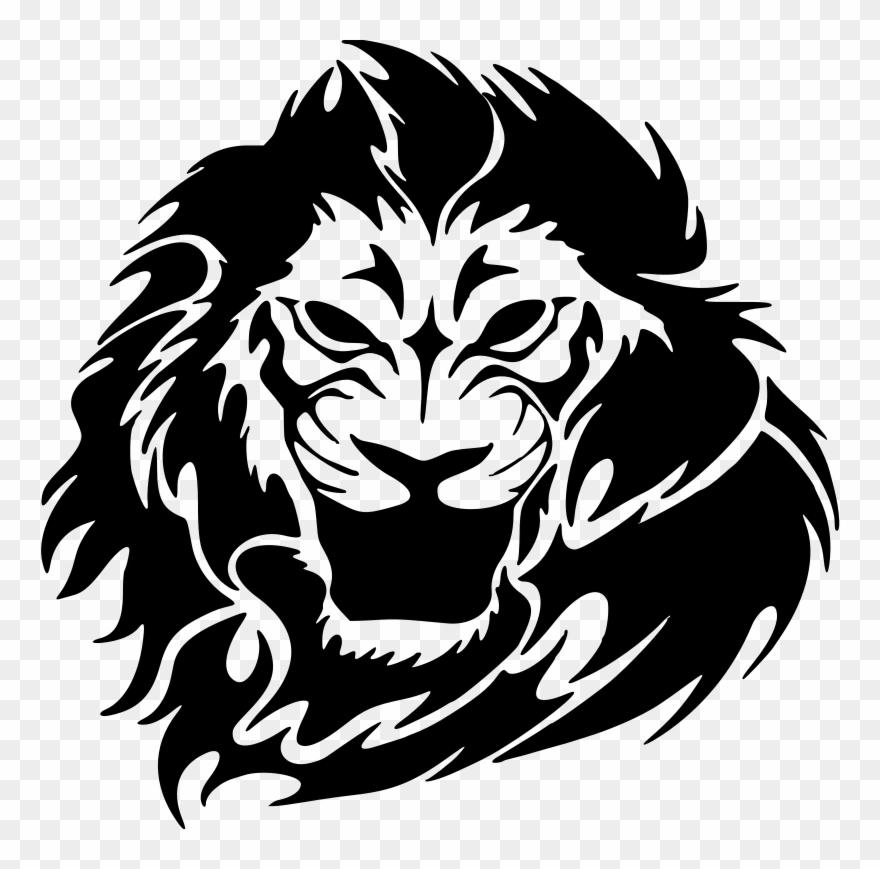Lion Head Clipart Png Lion Tattoos Png Transparent Png 444722 Pinclipart Hipster lion head monochrome design, png format. lion head clipart png lion tattoos