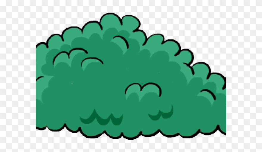 Cartoon Bush Png Clipart (#449392) - PinClipart