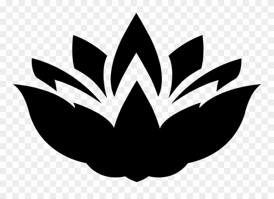 Lotus Flower Silhouette Lotus Silhouette Clipart 449721