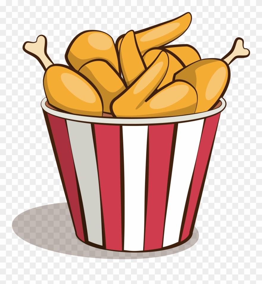 Poulet Frit Cuisses De Nuggets Ailes Image Png Et Vectorielle