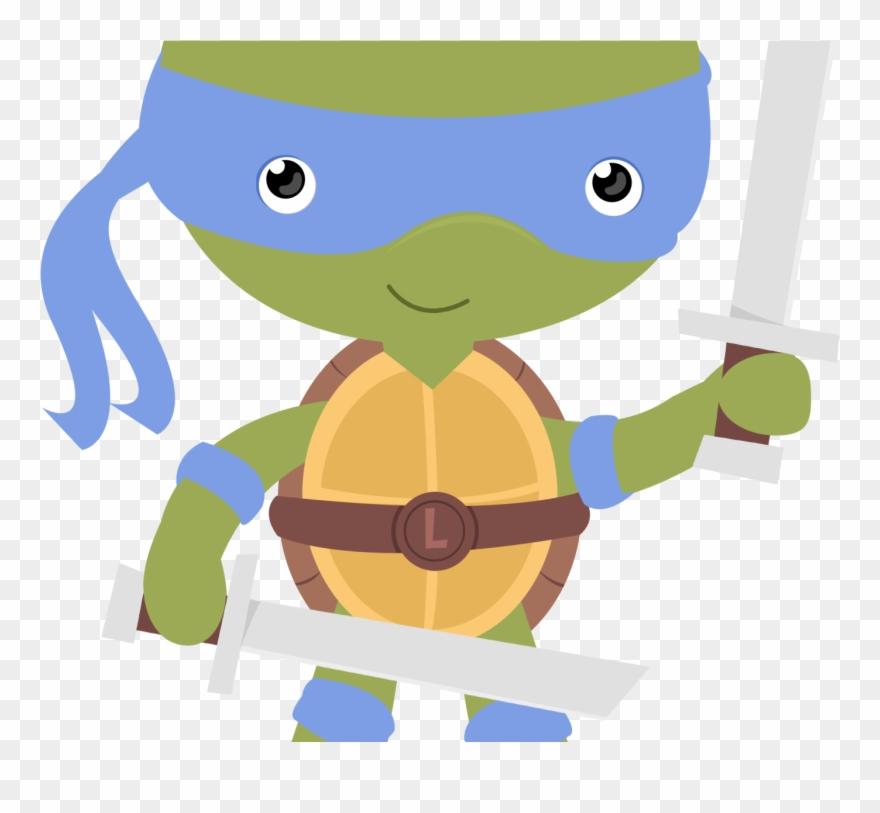Tartarugas Ninja Desenho Png Clipart 4459675 Pinclipart