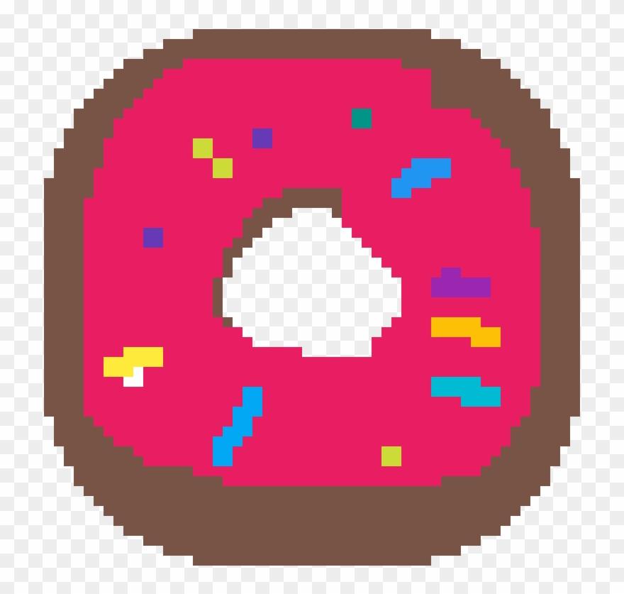 Pixel Donut Facile Pixel Art Pokemon Clipart 4463275