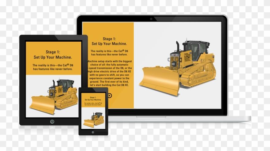 3d Product Configurator Software - Bulldozer Clipart