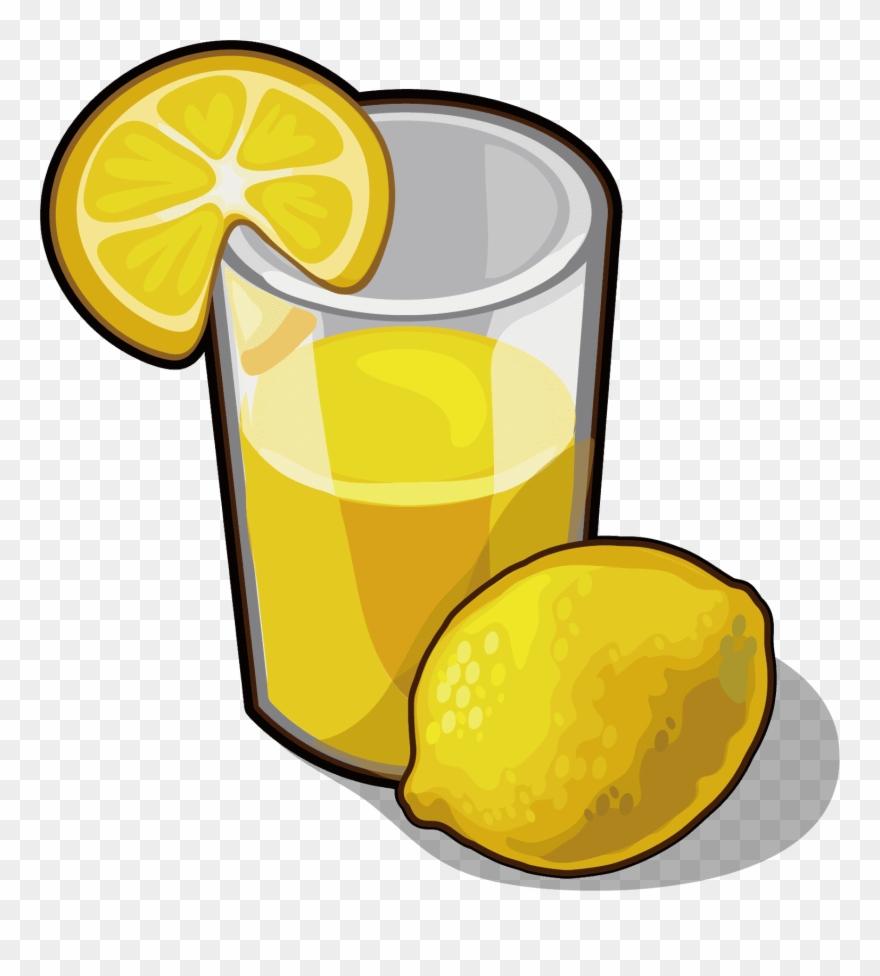 Juice Lemonade Drink Lemon Juice Images And Clipart - Png Download  (#4470563) - PinClipart