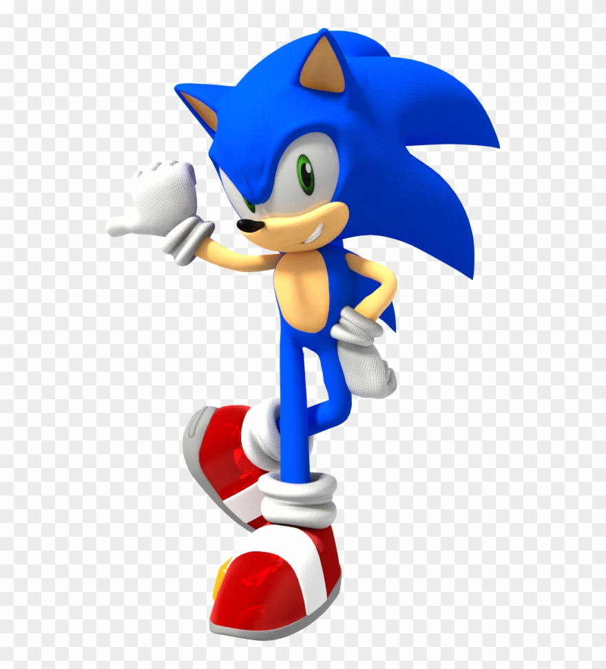 Sonic The Hedgehog Png Pack Sonic 3 Render Clipart 4482644 Pinclipart