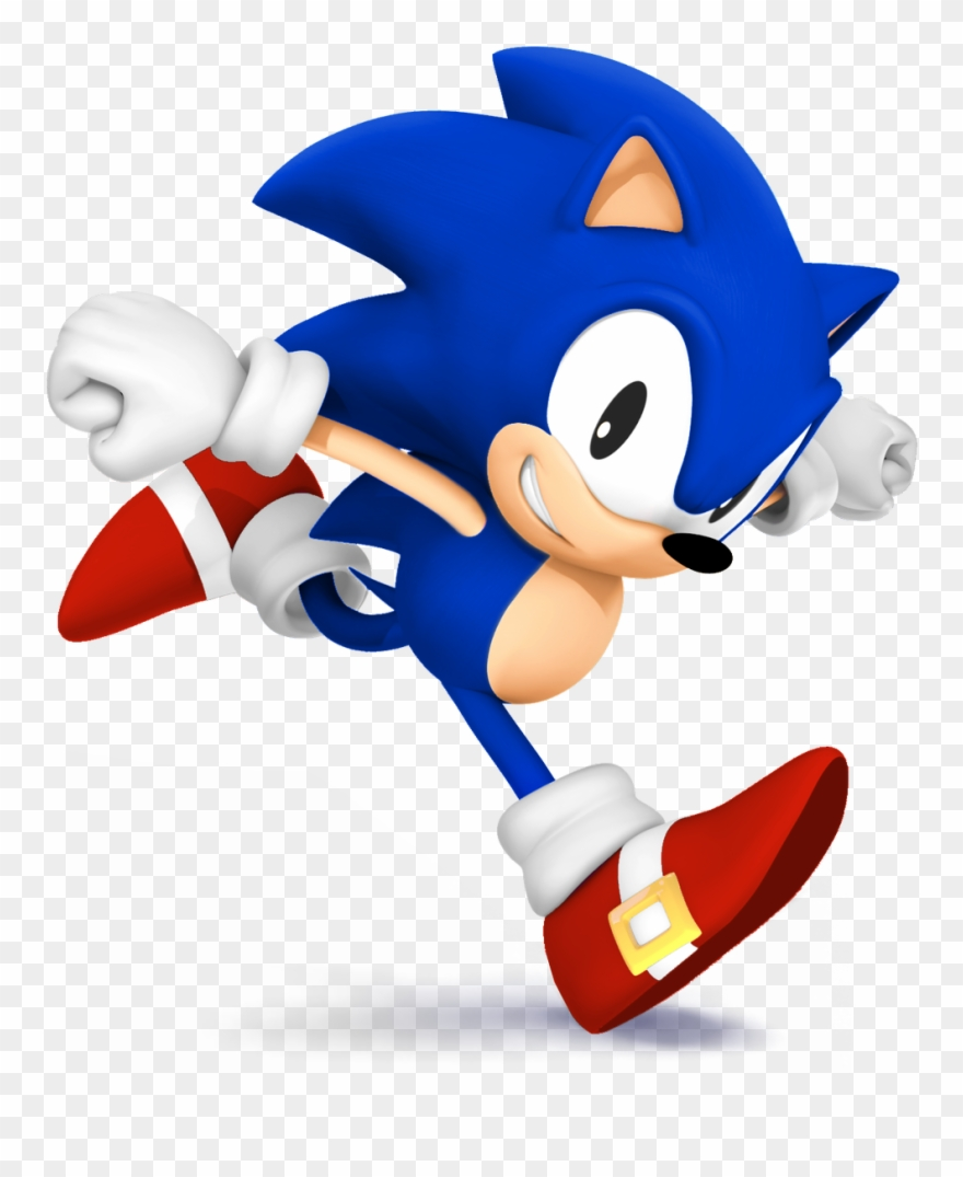Classic Sonic The Hedgehog Png Classic Sonic Transparent Clipart 4482646 Pinclipart