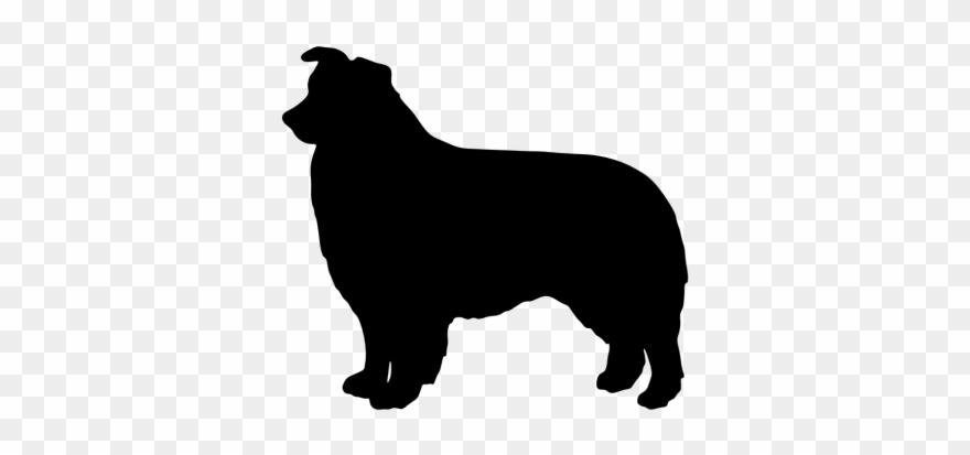 Download Australian Cattle Dog Clipart Silhouette - Mini ... (880 x 413 Pixel)