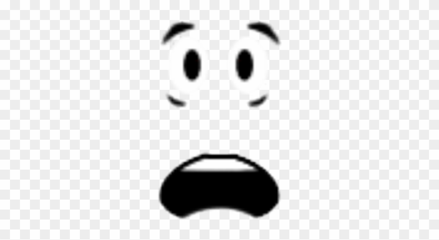 Fear Clipart Shocked Face Roblox Png Download 453171 Pinclipart