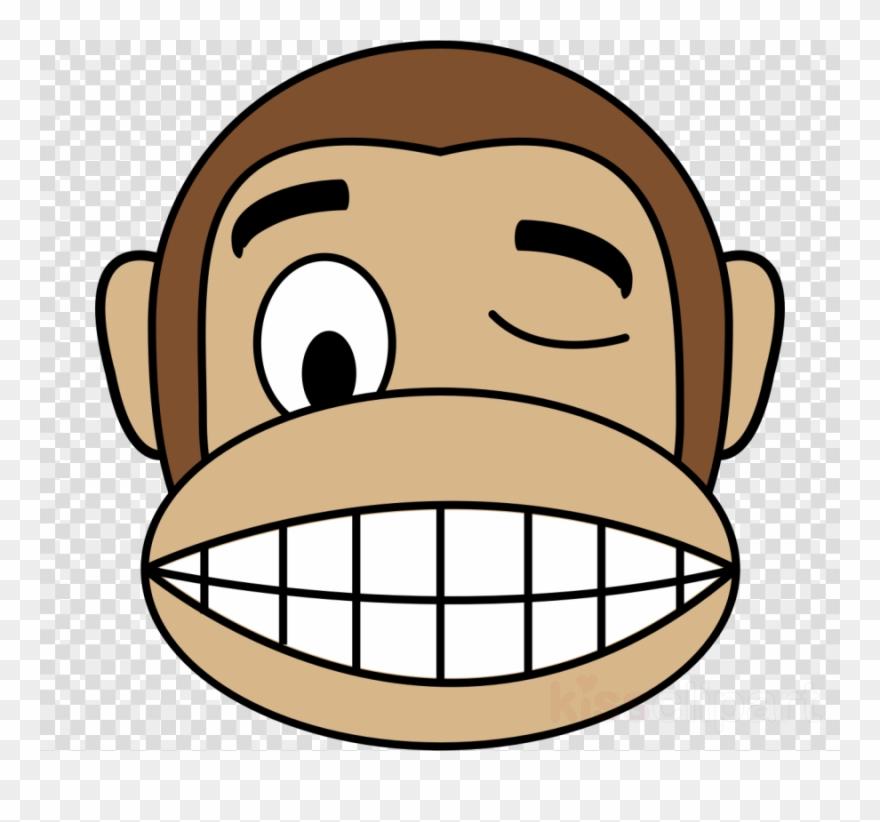 Cartoon Monkey Face Clipart Monkey Chimpanzee Clip Monkey Emoji Png Download 453527 Pinclipart