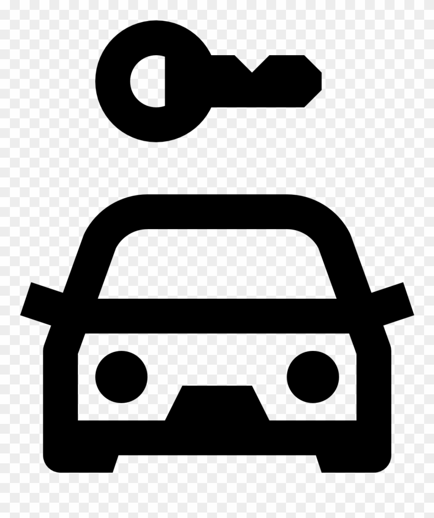 Car Rental Icon Rent Car Icon Clipart 454256 Pinclipart