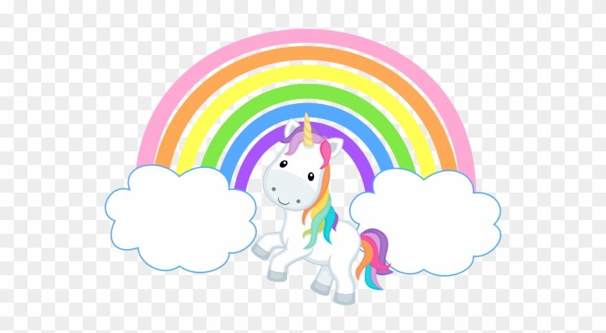 Svg Unicorn Rainbow - Rainbows Clouds And Unicorns Clipart