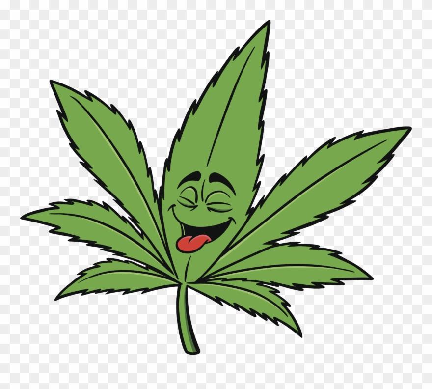 Vector Download Marijuana Art Clip - Marijuana Cartoon - Png Download