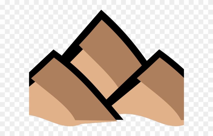 Mountain brown. Map clipart clip art