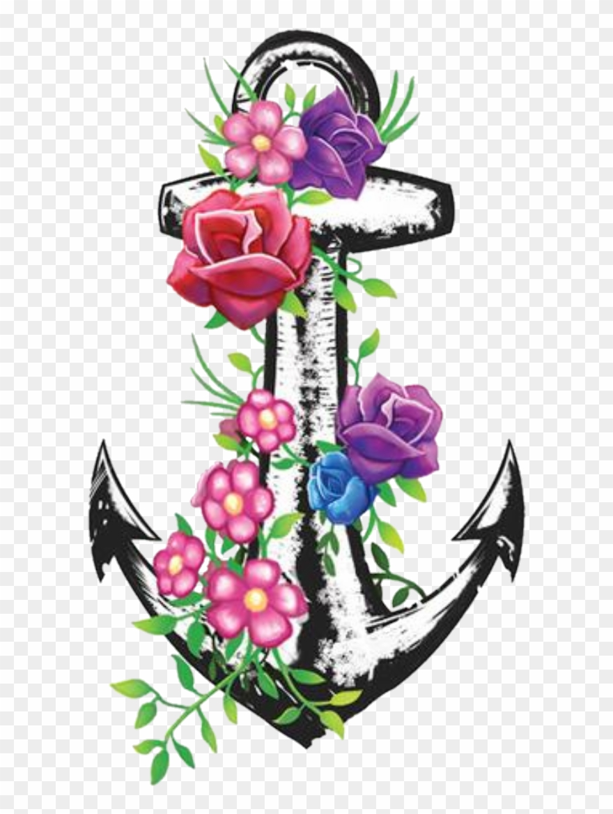 photo relating to Free Printable Flower Borders identify Totally free Printable Clip Artwork Borders - Combine Flower Tattoo - Png