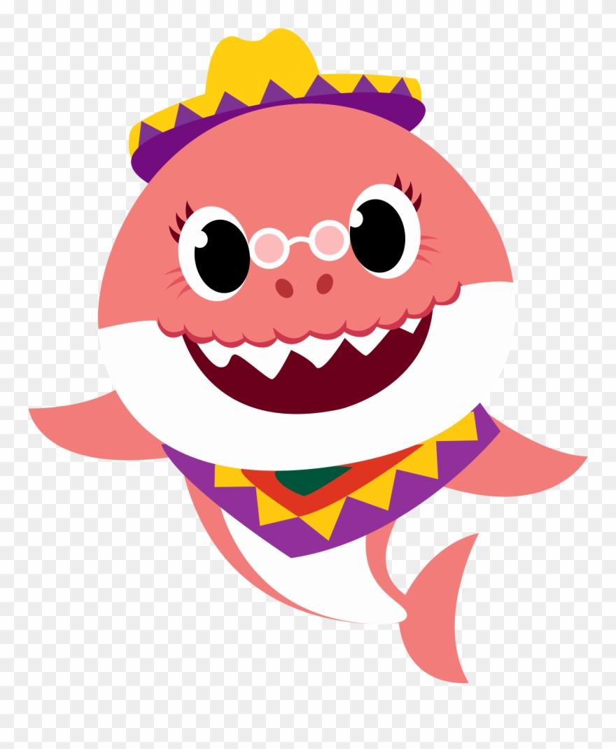 Clique Para Baixar Grandma Shark Png Clipart 4519921 Pinclipart
