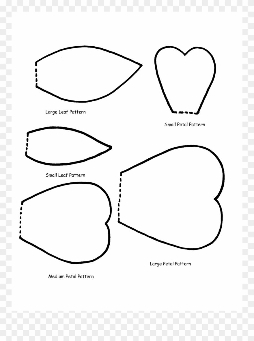 photo about Printable Flower Petals identify Significant Selection Of Flower Petals Clipart Down load Much more