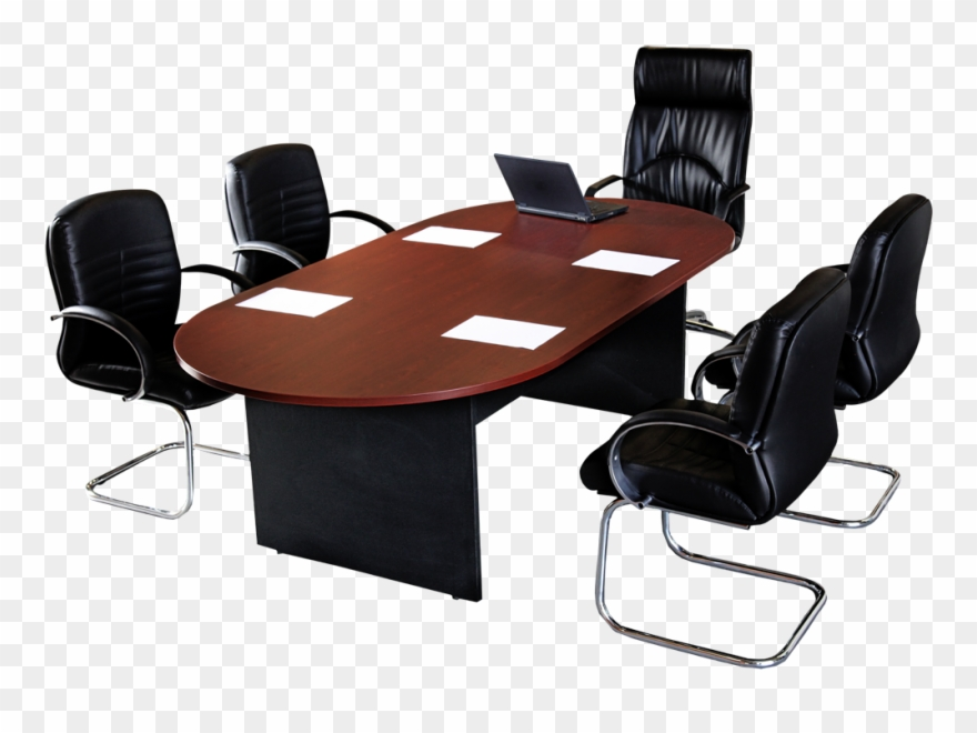 Meeting Clipart Conference Table - Office Chair - Png ...