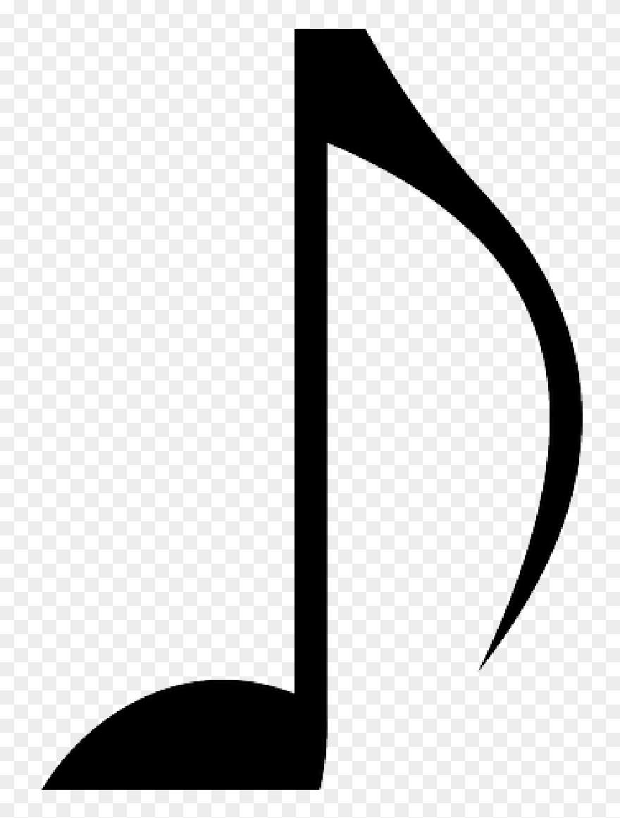 graphic relating to Music Notes Printable titled Printable Tunes Take note Logo Amazing Symbols Cost-free Clip - Png