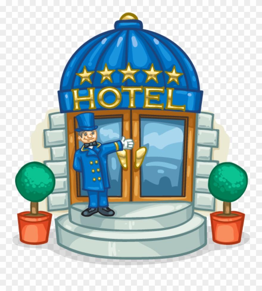 Five Star Hotel Five Star Hotel Cartoon Clipart 4590850 Pinclipart