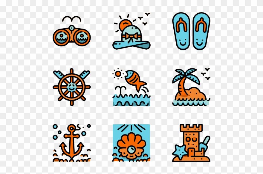 Beach - Aquarium Icon Clipart