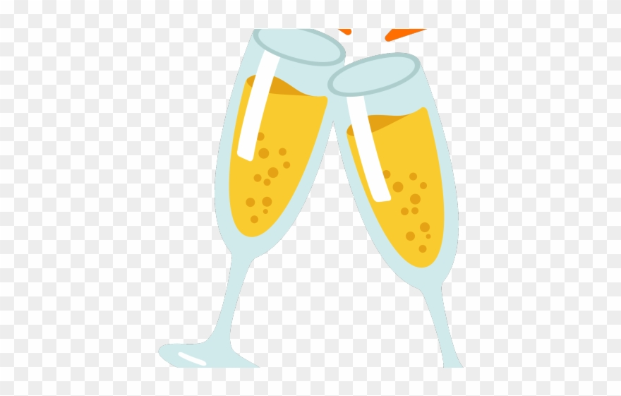 Champagne Clipart Anniversary Champagne - Happy New Year ...