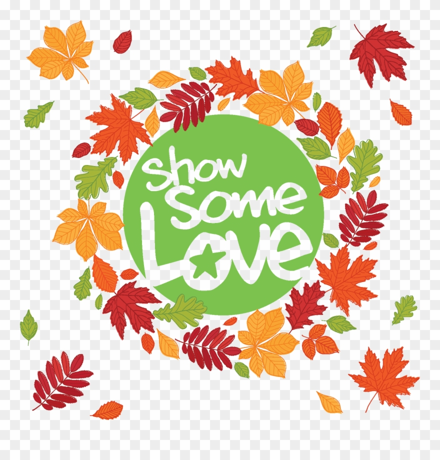 Image Icon Fall Leaves Cfc Show Some Love Logo Clipart 462994 Pinclipart