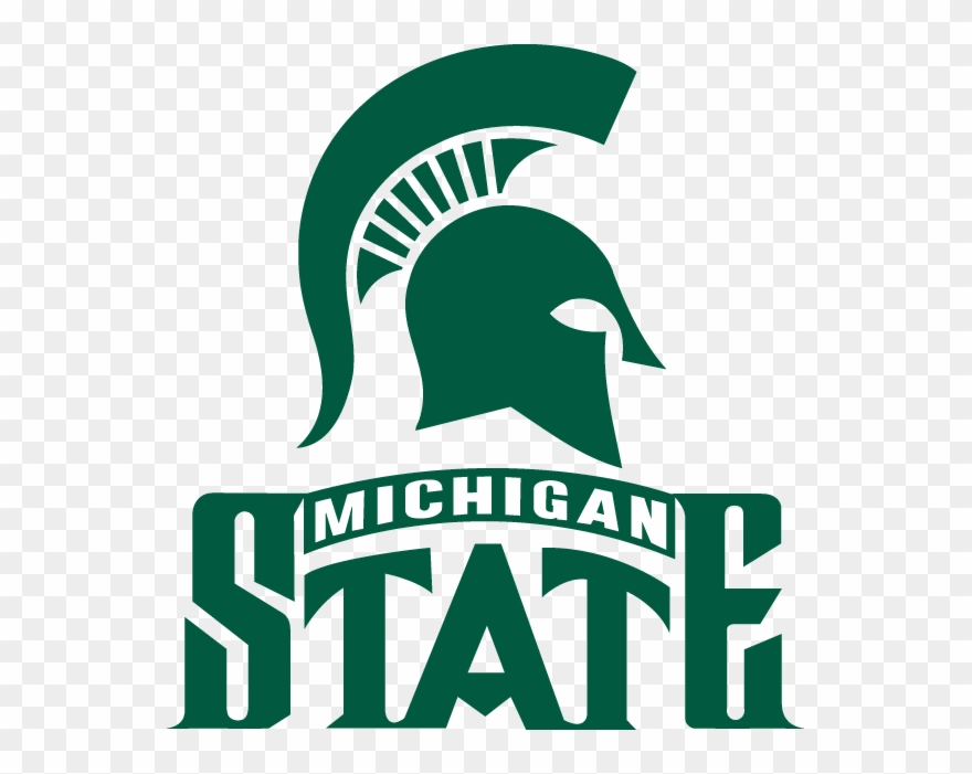 Download Spartans X Michigan State College Football Logo Clipart 4601690 Pinclipart
