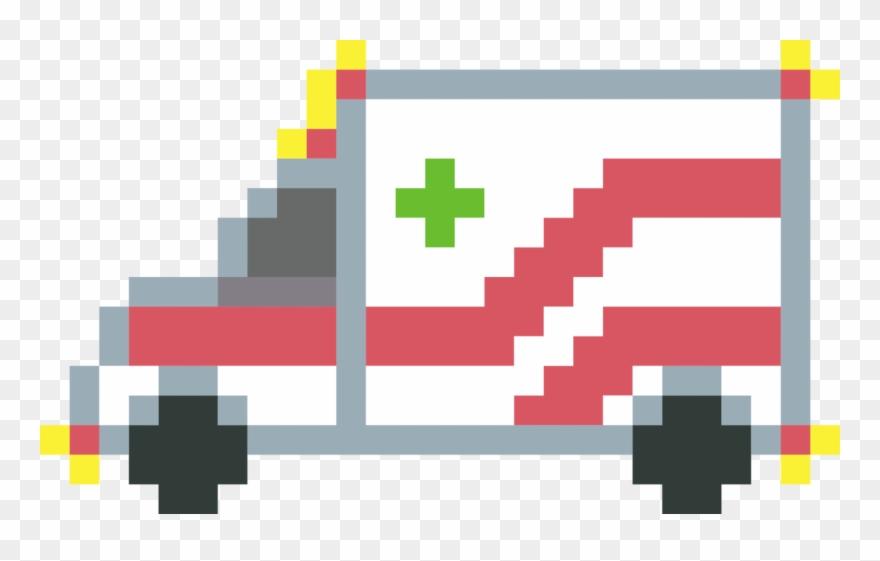 Ambulance Pixel Art Paramedic Computer Icons Flying Bird
